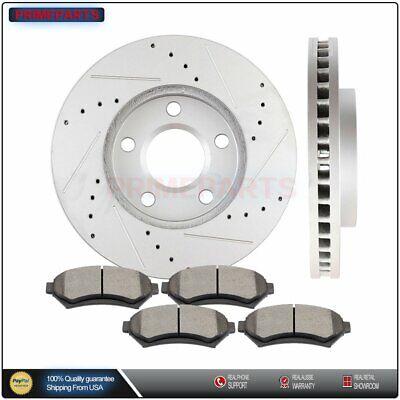 OE Replacement See Desc. Rotors Ceramic Pads F 2000 2001 Buick LeSabre