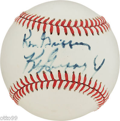 Baseball-mlb Bright Ken Griffey Jr Dual Signed W/dad Oal Base Ball Mariners Reds Braves Ny Yankees Sports Mem, Cards & Fan Shop
