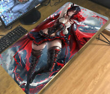 Anime RWBY Mouse Pad Mat Yang Xiao Long Large Keyboard Mice Mat Game Playmat