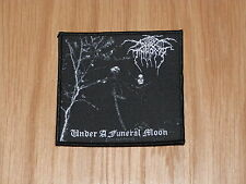 DARK THRONE - UNDER A FUNERAL MOON (NEW)SEW ON W-PATCH OFFICIAL BAND MERCHANDISE
