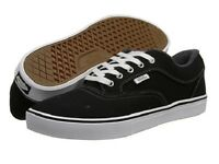 Vans Mirada Mens Skate Shoes (new) Sizes 7-13 Black & White Twill Free Shipping