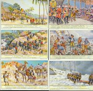 LIEBIG : S_1578 : Tentatives d'expansion coloniale 1-6