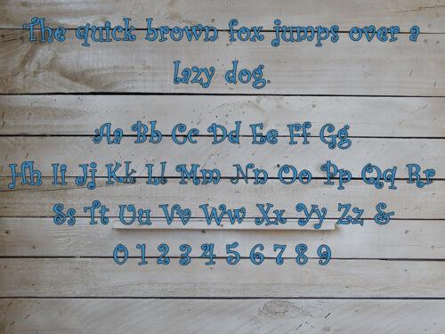 Nursery Crib Decor Monogram Wall Hanging Wedding Monogram Child/'s Room,DS1011