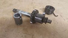 1995 HONDA XR100R KICK START GEAR ASSEMBLY WITH SHAFT , SPRING AND COLLAR   #1