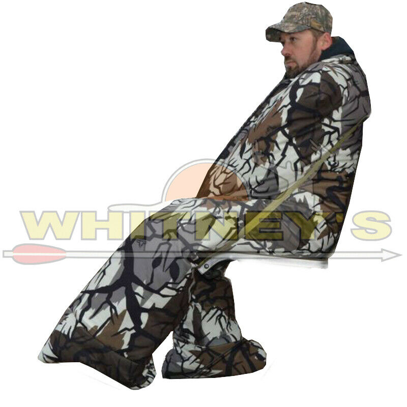The Heater Body Suit  Predator Camo Extra Tall Wide Cold Weather Hunting Clothing  fast shipping worldwide