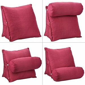 Adjustable-Back-Wedge-Cushion-Sofa-Bed-Office-Chair-Rest-Neck-Support-Pillow