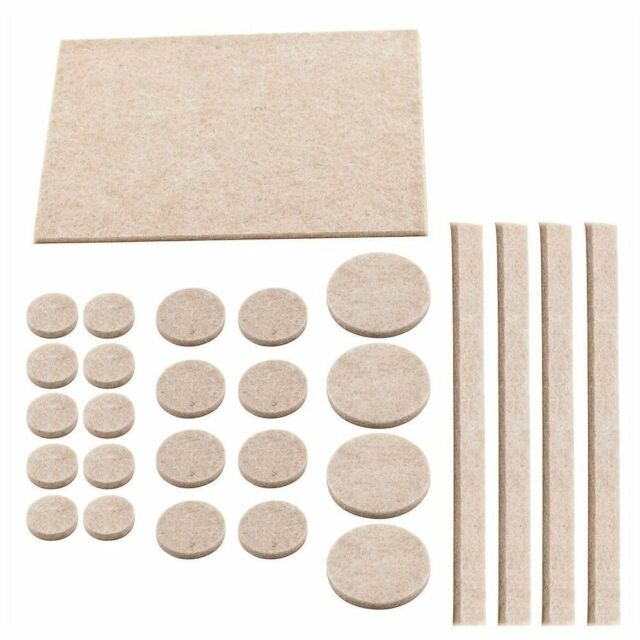Large Heavy Duty Felt Pads Self Adhesive Sticky Wood Floor Furniture Protection