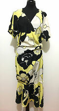 GIANNI VERSACE VINTAGE '80 Abito Vestito Donna Seta Silk Woman Dress Sz.S - 40