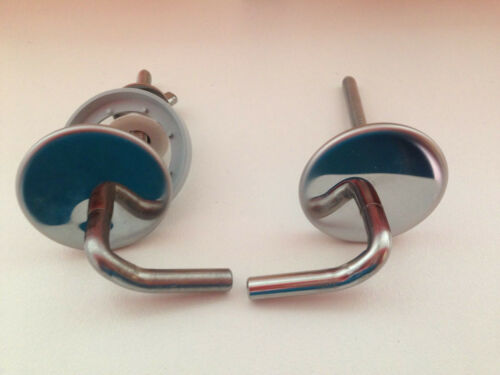 Genuine Imperial Ware Toilet Seat Hinges Brand New Stainless Steel HS0502-S