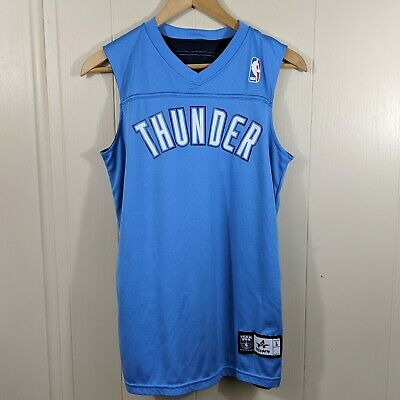 new style 7b397 be171 Team NBA Reversible OKC Thunder Jersey #6 Youth L   eBay