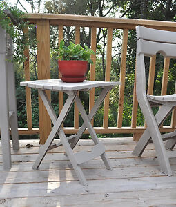 Image Is Loading Adams Stand Quik Fold Side Table White Patio