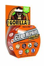6 x Gorilla nastro adesivo trasparente riparazione impermeabile con finitura lucida 48mm x 8.2m in magazzino