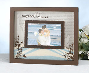 Unity Sand Ceremony Unity Sand Frame Wedding Together Forever Ebay