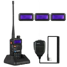 NKTECH UV-5R PLUS Tri-Power 8W 4W 1W Dual Band U/V Funkgerät Walkie Talkie Mic