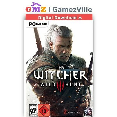The Witcher 3 III Wild Hunt Steam Gift PC Digital Download Link [EU/US/MULTI]