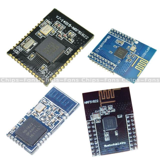 NRF51822 YJ-14015 BLE4 0 Bluetooth 2 4GHz Networking 3 3V/ 1 8-3 6V Blue/  Black