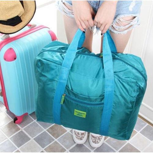 Fashion Big Foldable Travel Bag Storage Luggage Carry-on Organizer Hand Shoulder