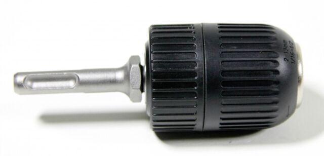 Hitachi Schnellspannbohrfutter mit SDS-Plus-Adapter von SDS auf 13mm-Bohrfutter
