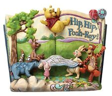 Disney Traditions Hip Hip Pooh-Ray! Winnie The Pooh Resin Figurine Birthday Gift