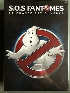 BLU RAY COLLECTOR - SOS FANTOMES - GHOSTBUSTERS - COFFRET + GOODIES - NEUF