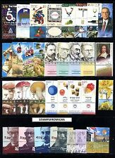 Israel 2002 Complete Year Set of Mint Never Hinged Stamps Full Tabs