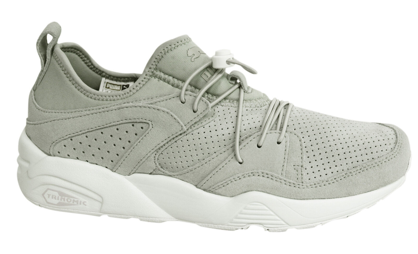 Puma Trinomic Blaze of Glory Soft Mens Grey Trainers Shoes 360101 07 U126