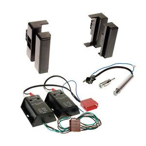 1-DIN Blende+Adapter Autoradio-Einbau-Komplettset AUDI A8 D2 AB 07//94 MIT BOSE