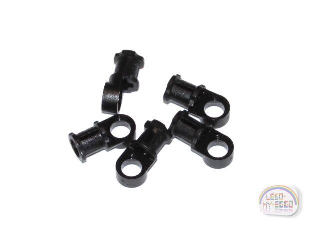 2 LEGO Parts~ Axle /& Pin Connector 3x3 w Axle 58177 BLACK Technic