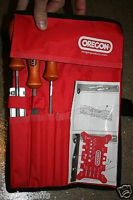 Customized Chainsaw Chain Sharpening kit Square Gauges Round /& Flat File