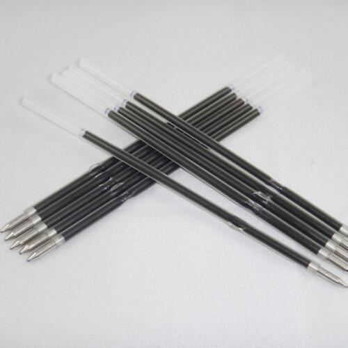 20x Kugelschreiber Refills 0.7mm overstriking Kugel Gel Blue Ink Refill New^//