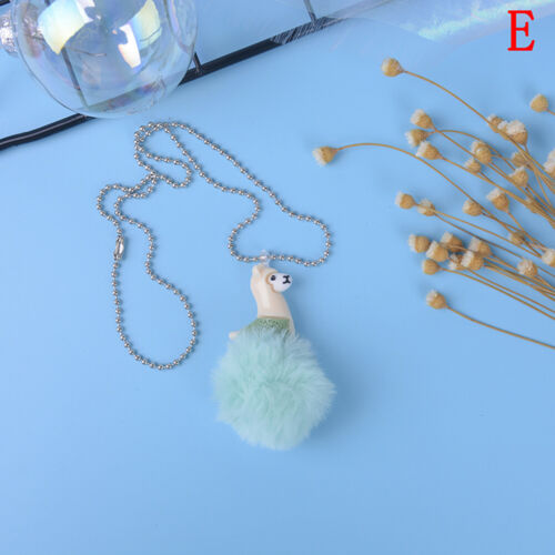 Cute alpaca necklace animal pendant children necklace best birthday giftESBCXJ