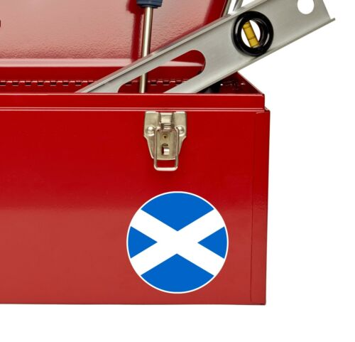 2 x 10 cm Drapeau Écossais ECOSSE Vinyle Autocollant Decal voiture portable voyage vélo # 9122