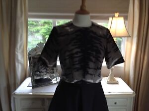 Limited Rrp Whistles Size Top 10 Bnwt Edition Animal Print Audrey £145 gqRBp7q