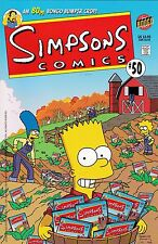 SIMPSONS COMICS #50 2000 MATT GROENING BONGO COMICS 80 PAGE SPECIAL BOOK ISSUE!