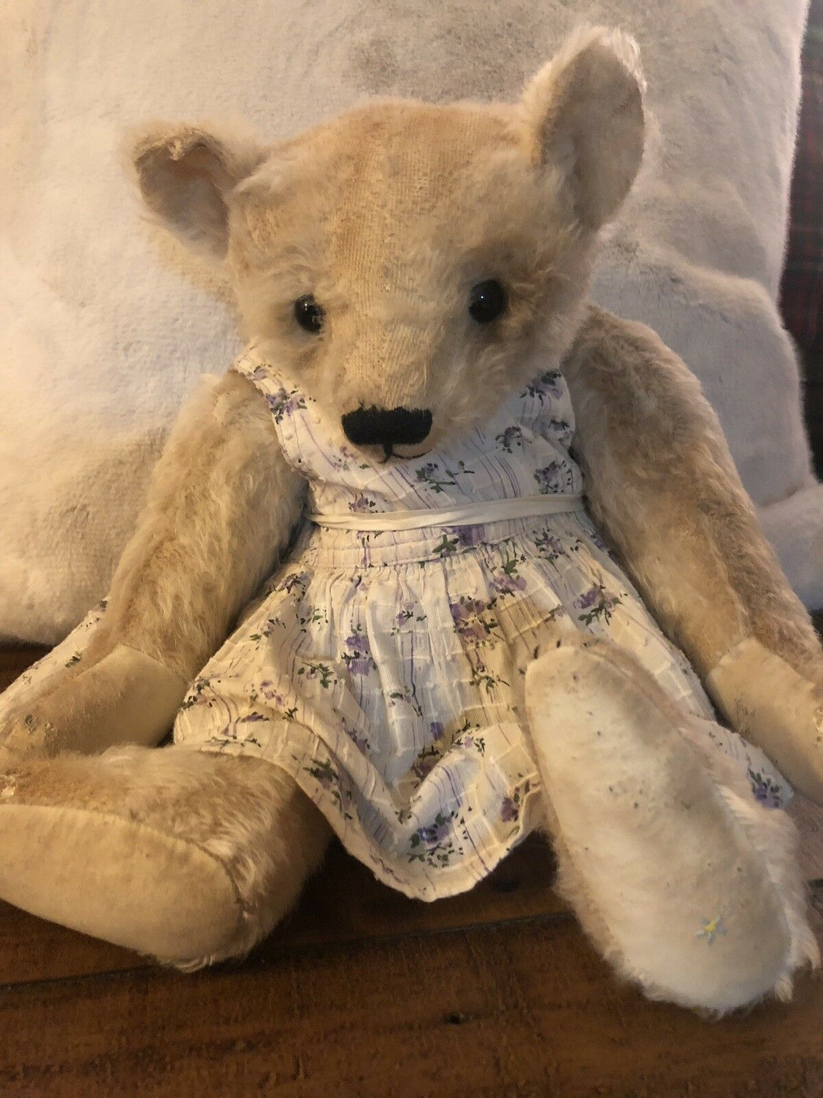 Forget Me Not Teddy Bear by Joy