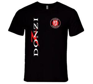 White Men/'s TShirt S DONZI Marine Racing Tee Performance T-Shirt Black 2XL