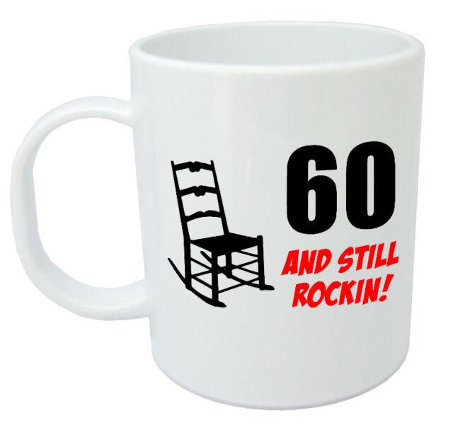 60 Still Rockin Mug 60th Birthday Gifts For Men Women Gift Ideas