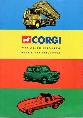 Enthousiast Mini Catalogue Corgi 1995 De 8 Pages Edition Uk Vouw-Weerstand
