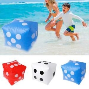 Image Is Loading 40cm Giant Inflatable Dice Beach Garden Party