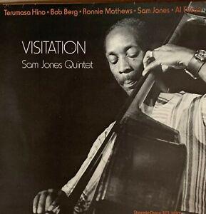 SAM-JONES-Pre-Owned-LP-VISITATION-gluing-gone-PLAYED-ONCE