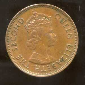 British Caraibes 1 Cent 1965 Prix Raisonnable