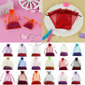 100 pieces Sheer Organza Wedding Party Favor Decoration Gift Candy Pouch Bags