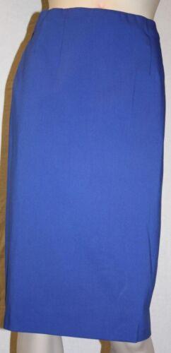 wie Bengalin 38-58 Q/'neel royalblau Stretchrock knielang königsblau Rock
