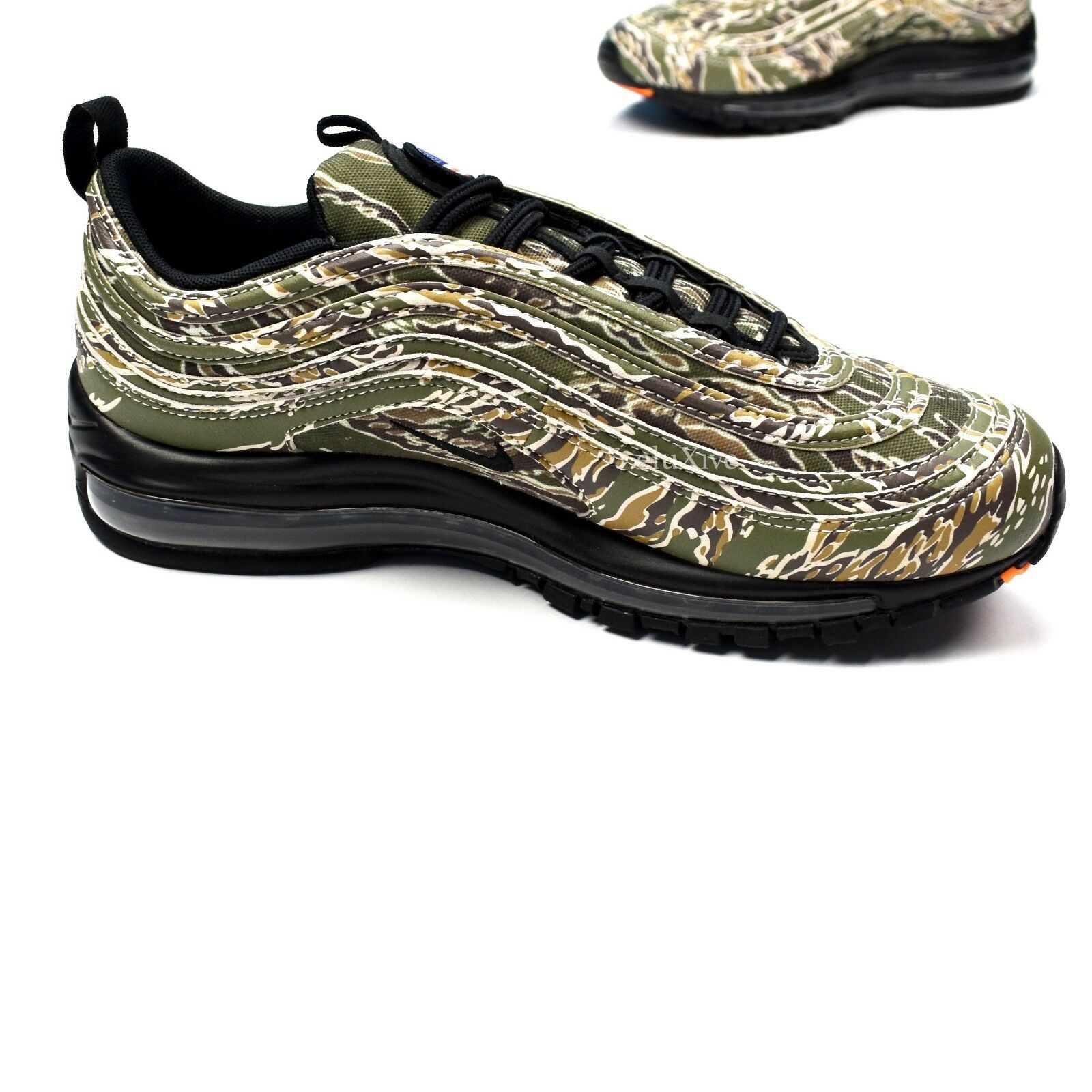 lower price with 75339 cff87 ... NWT Nike Air Max 97 país Camo Usa Usa Usa American Flag Hombres  Zapatillas Authentic casual ...
