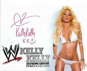sexy Autogramm von Kelly Kelly