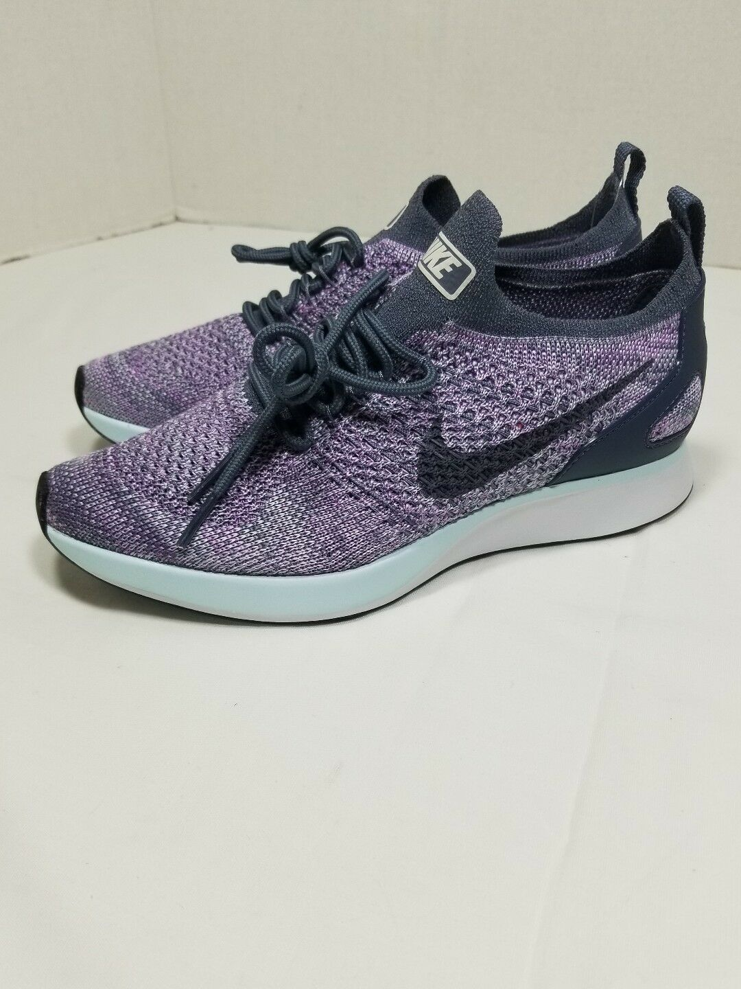 New Shoes Nike Women's Air Zoom Mariah Flyknit Racer Shoes New (AA0521-005) Light Carbon 7 d2b9ba