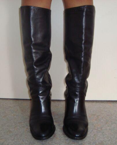 Leather 37 Size Carel Black 5 Boots 7qw6EYEP