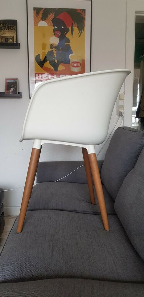 Spisebordsstol, Plast & Træ, Jysk – dba.dk – Køb og Salg af