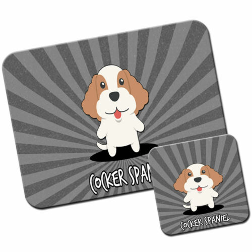 Cocker Spaniel Mouse Mat Pad /& Coaster