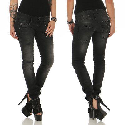 D9668//700 HERRLICHER Röhre // Damen Jeans Hose PITCH Slim NEU
